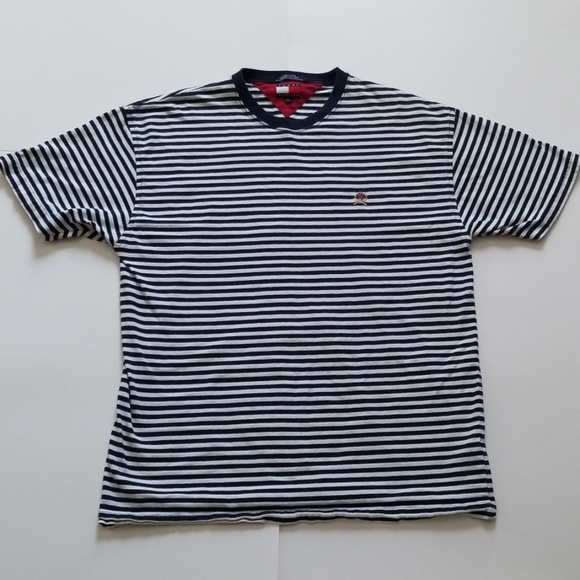 Tommy Hilfiger Other - Tommy Hilfiger | Vintage Striped White Navy Blue